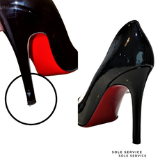 Scrapped high leel repair by sole service. Louboutin