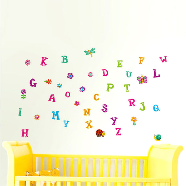 NidoKido Alphabets Wall Sticker