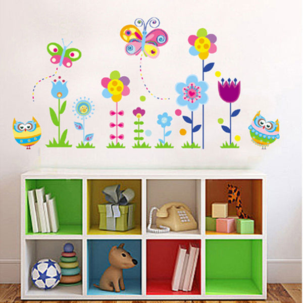 NidoKido Butterfly Garden Wall Sticker