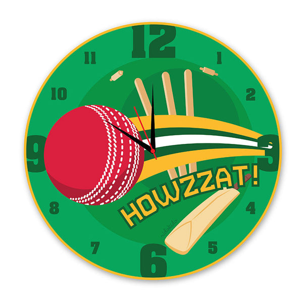 NidoKido Cricket Wall Clock