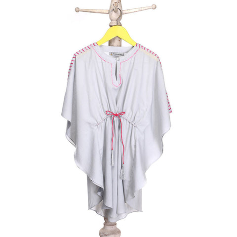 Mi Dulce An'ya Kaftan with Contrast detailing at Shoulders for Girls