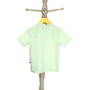 Mi Dulce An'ya Green printed Half sleeve Shirt for Baby Boys