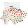 Mi Dulce An'ya 3-pc Gift Bag with printed onesie, bib and cushion for Baby Boys
