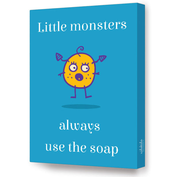 NidoKido Little Monster Series - Use soap; Canvas