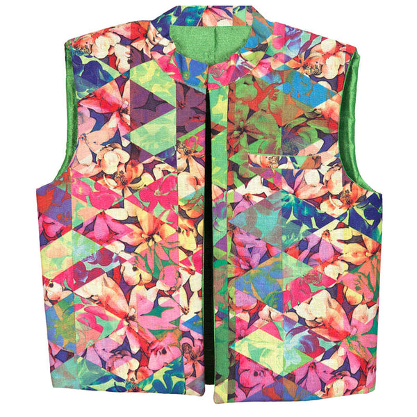 Hickory Dickory Floral Summer Jacket