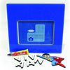 NidoKido Personalised Blue Photo Frame with Spiderman Motif