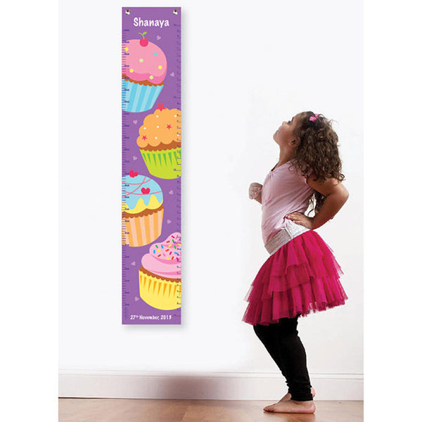 NidoKido Personalized Growth Chart - Cupcake