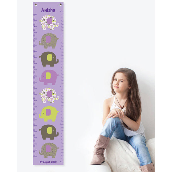 NidoKido Personalized Growth Chart - Elephant