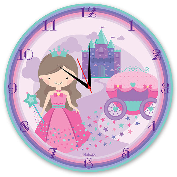NidoKido Princess Wall Clock