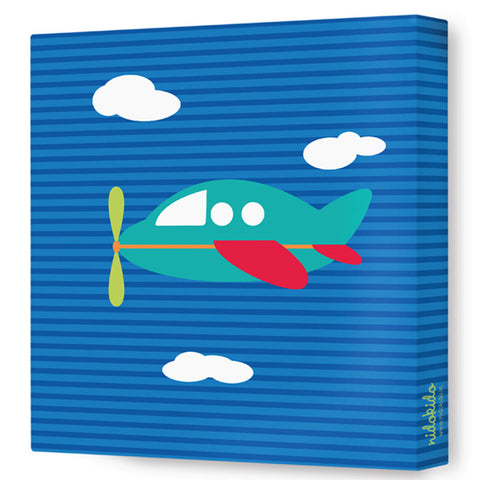 NidoKido Transport Canvas Art - Plane