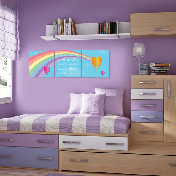 NidoKido Dream Canvas Art Set of Three