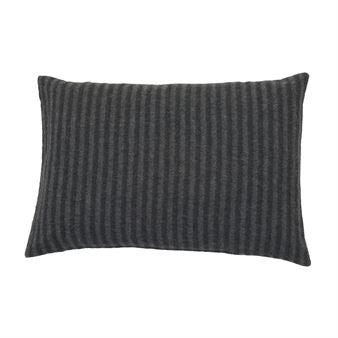 Underscore Dark Grey/Grey Cushion Cover 40 x 60cm - Northlight Homestore