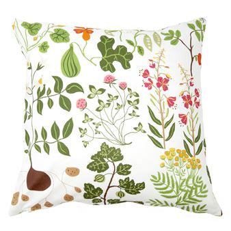 Leksand White Cushion Cover