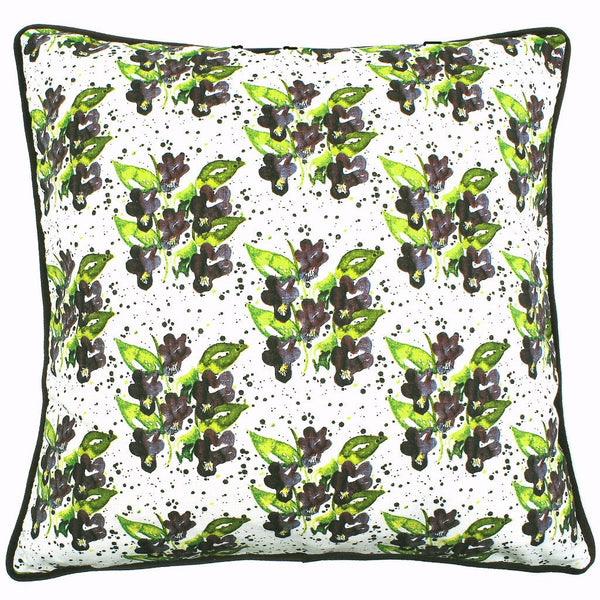 Viola Violet 48x48cm Linen/Cotton Cushion Cover