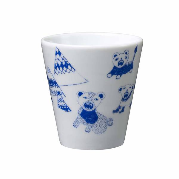 Cubs In A Cupboard Blue Cup