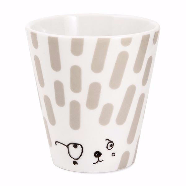 Oh What a Friendly Face - Grey Coffee, Tea, Me? Cup - Northlight Homestore