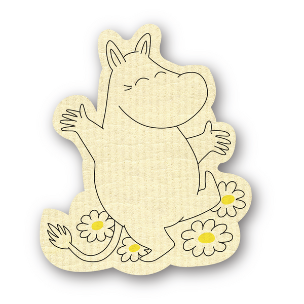 Moomin Shaped Dishcloth - Northlight Homestore