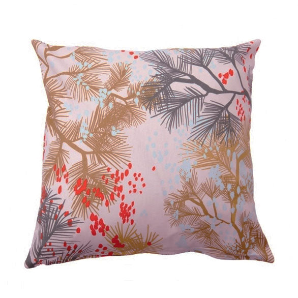 Cherry Rain Dawn 45x45cm Cotton Cushion Cover