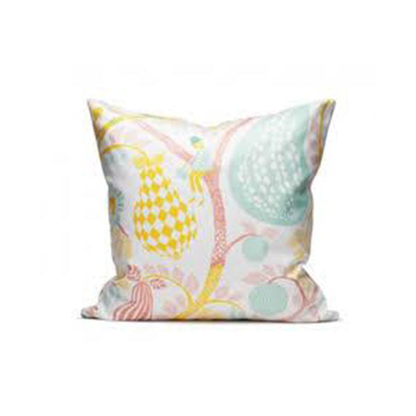 Fruit Garden White/Pink Cushion