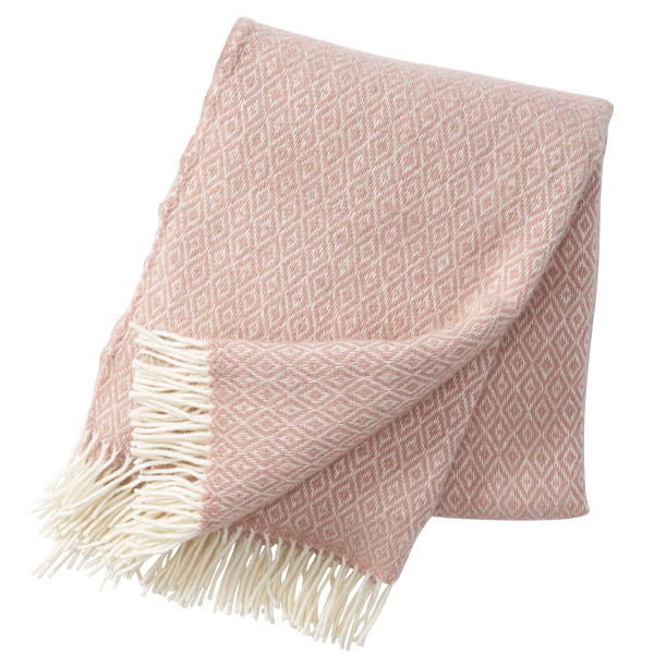 Stella Nude Lambswool Throw