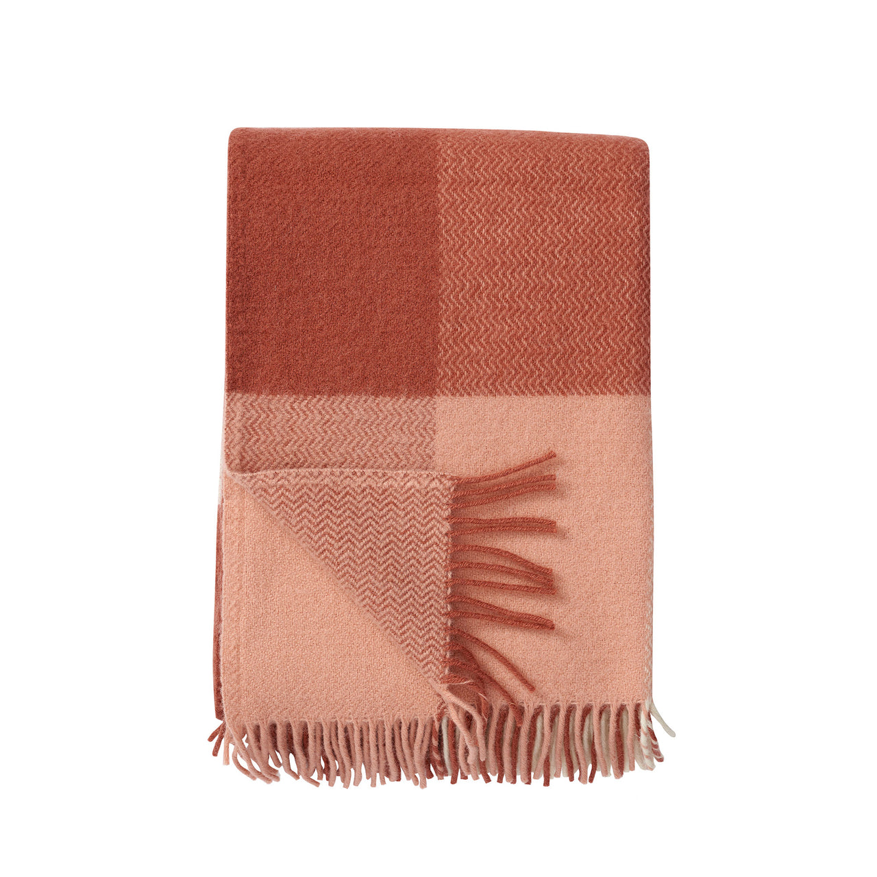 Inez Nude 130x200cm Lambswool Throw