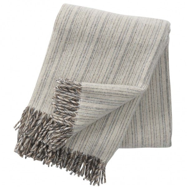 Klippan Björk Natural Wool Throw