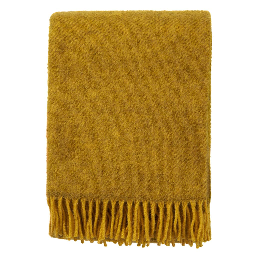 Gotland Yellow Throw