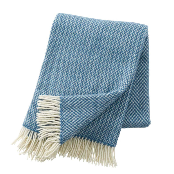 Pulse China Blue Throw - Northlight Homestore