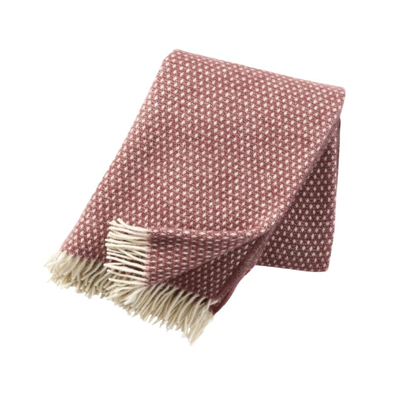 Knut Rose Brown Throw