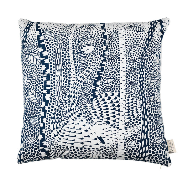 Birchy Bird/Blue Cushion Cover - Northlight Homestore