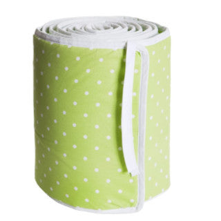 Prickig Green Cot Bumper - Northlight Homestore