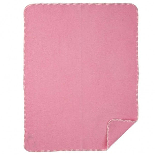 Soft Wool Baby Blanket Pink - Northlight Homestore