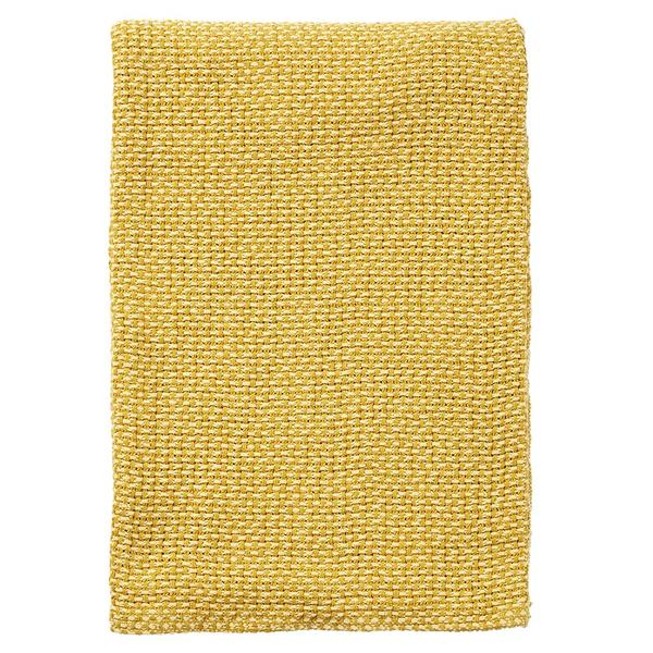 Basket Yellow 130x180cm Organic Cotton Blanket
