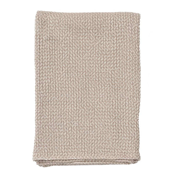 Basket Beige 130x180cm Organic Cotton Blanket