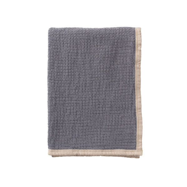 Decor Warm Grey 125x170cm Organic Cotton Blanket