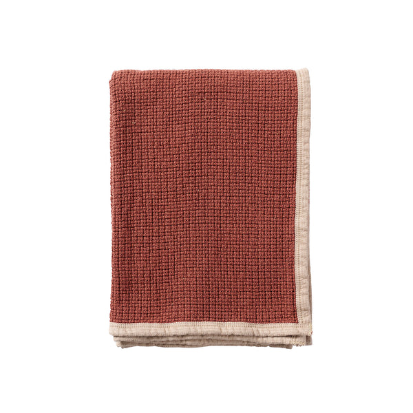 Decor Rust 125x170cm Organic Cotton Blanket