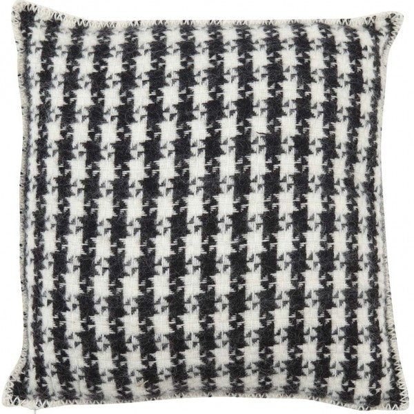Tweed Black Cushion Cover