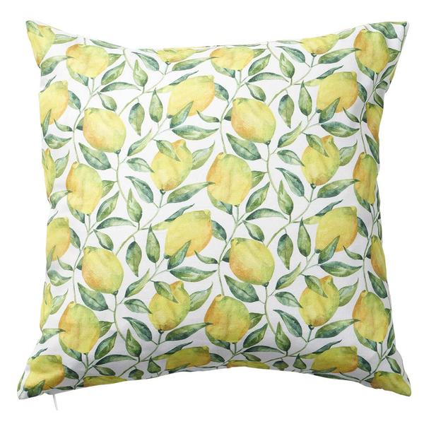 Lemon Tree 45x45cm Cotton Cushion Cover