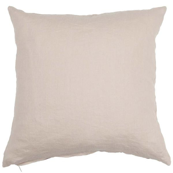 Linn Beige 50x50cm Linen Cushion Cover