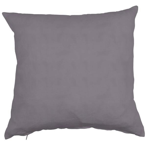 Linn Lead Grey 50x50cm Linen Cushion Cover