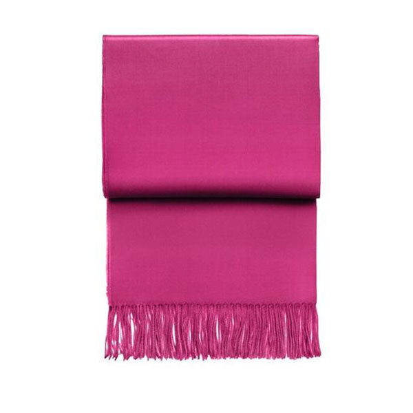 Luxury Pink 100% Baby Alpaca Throw