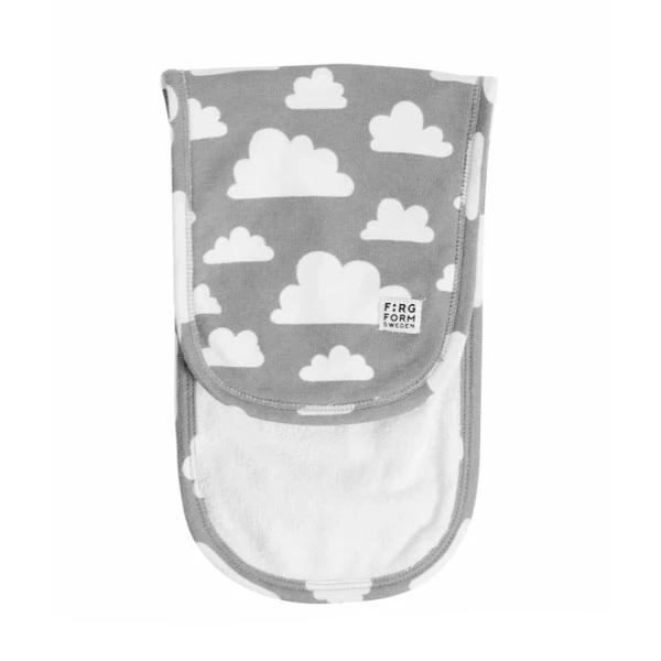 Moln Cloud Grey/Black Baby's Blanket Pack of 2