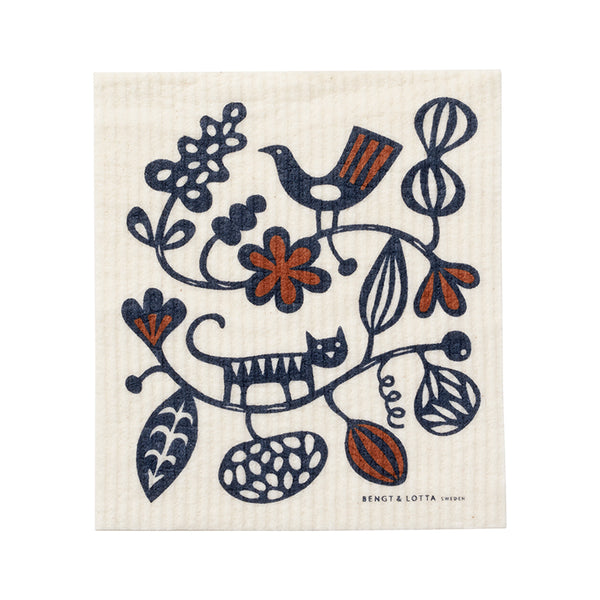 Botanical Garden Dishcloth