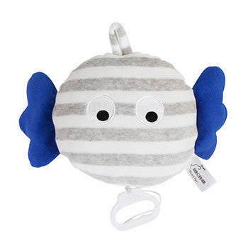 Skummis Grey/White & Blue Music Toy - Northlight Homestore