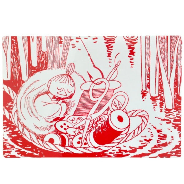 Little My Sleeping Red 30x40cm Placemat