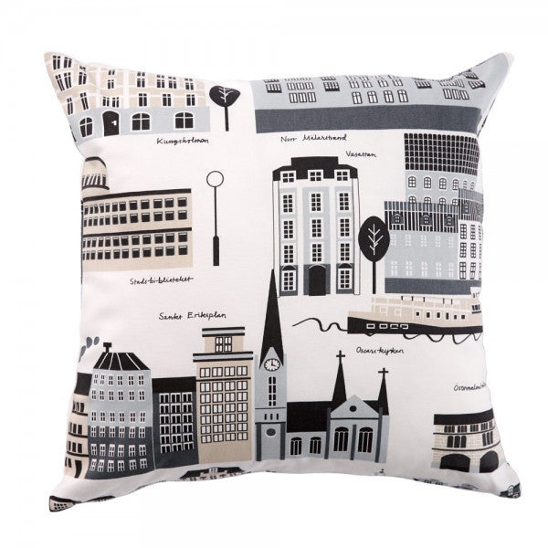 My Stockholm Beige Cushion Cover