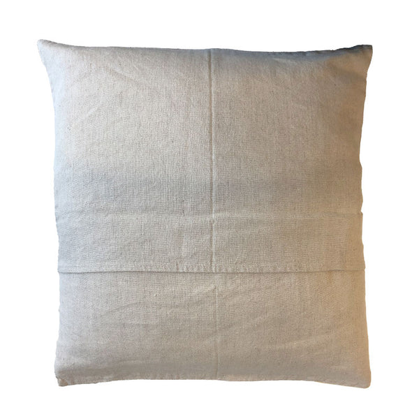 Maya Putty 50x50cm Linen Cushion Cover