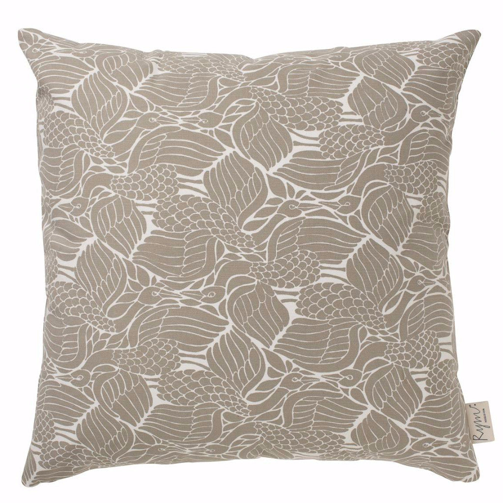 Cuckoo's Nest Beige Cushion Cover