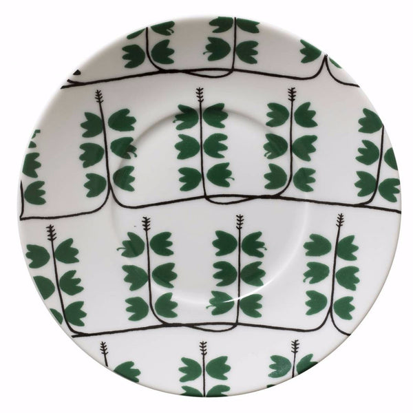 Heather Green Saucer - Northlight Homestore