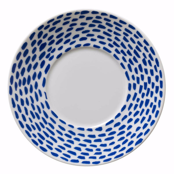 Dots for Pots Blue Saucer